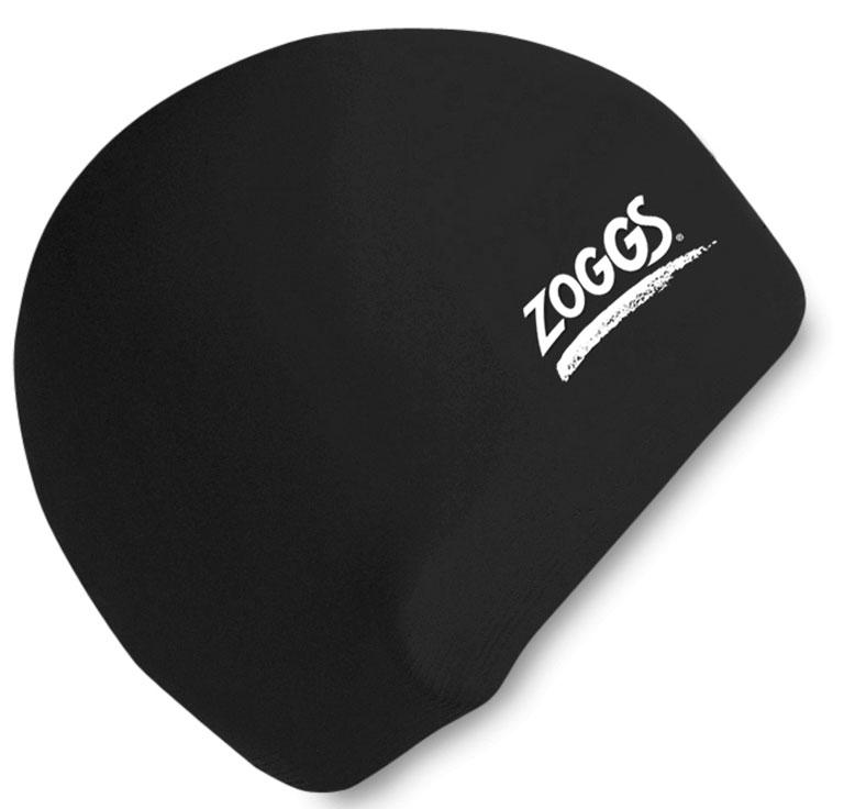 Шапочка для плавания ZOGGS Silicone Cap Black