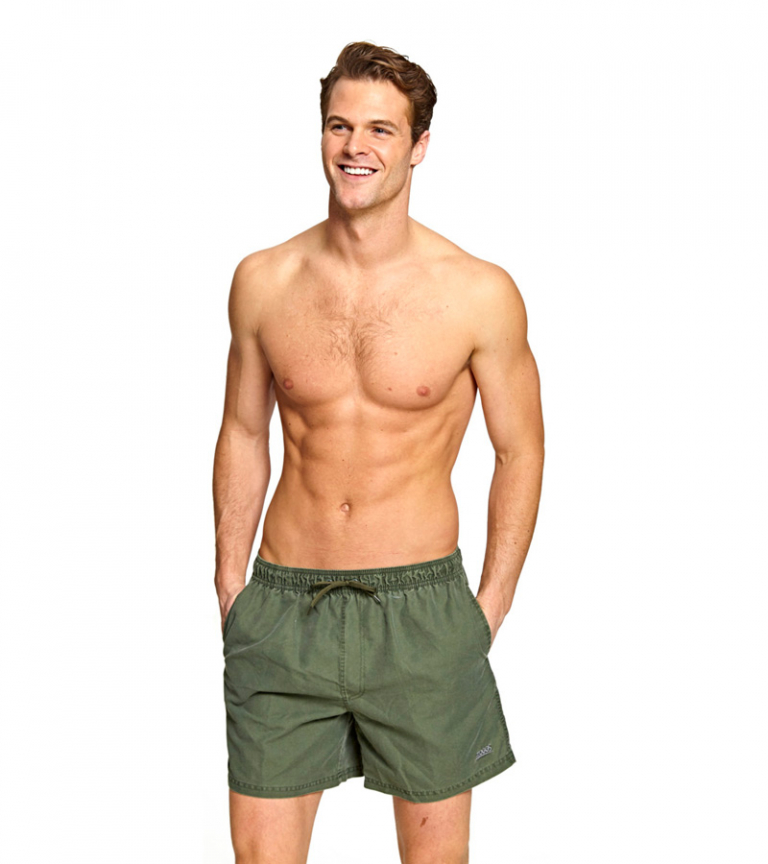 Шорты мужские плавательные ZOGGS Mosman Washed Shorts 16 Khaki