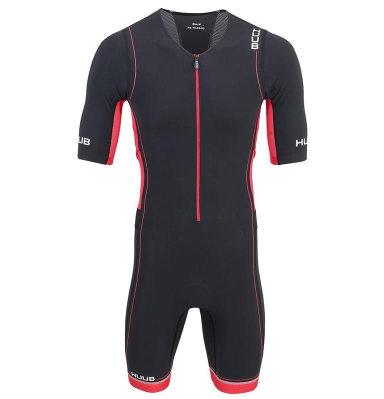 Стартовый костюм для триатлона мужской с велопамперсом (трисьют) HUUB Core Long Trisuit