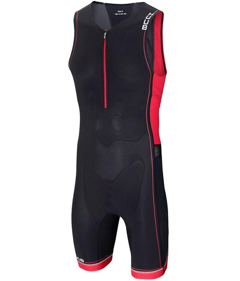 Стартовый костюм для триатлона мужской с велопамперсом (трисьют) HUUB Core Trisuit