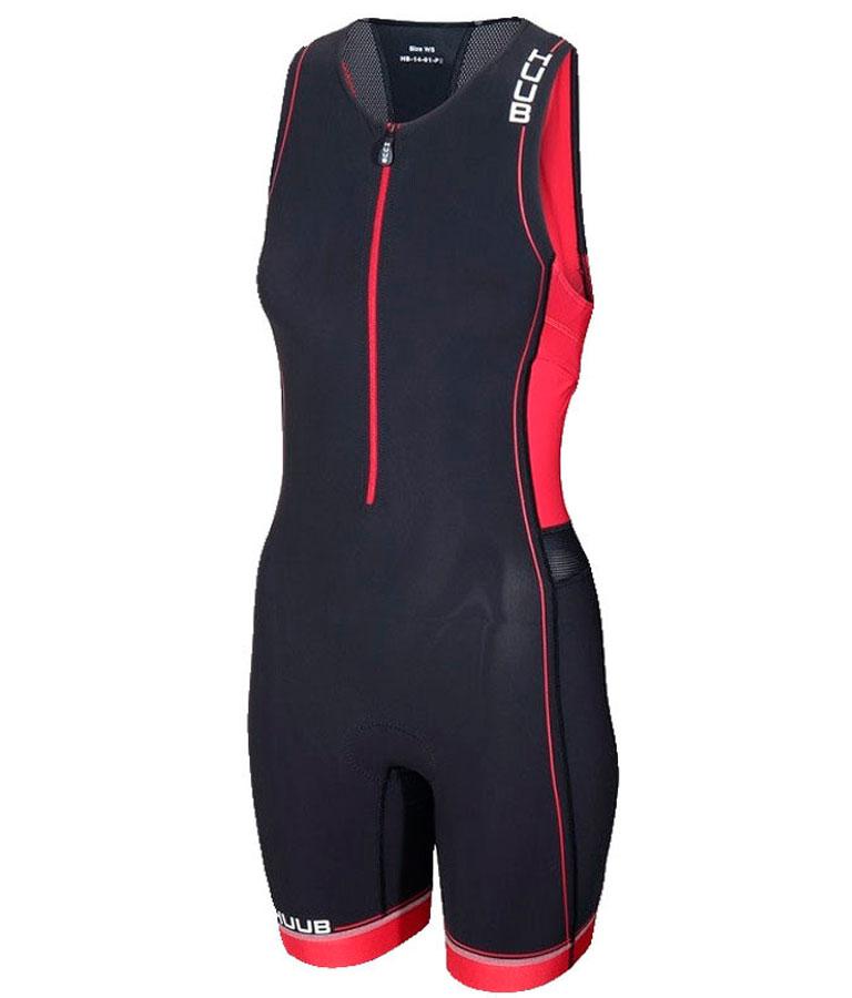 Стартовый костюм для триатлона женский с велопамперсом (трисьют) HUUB Core Trisuit