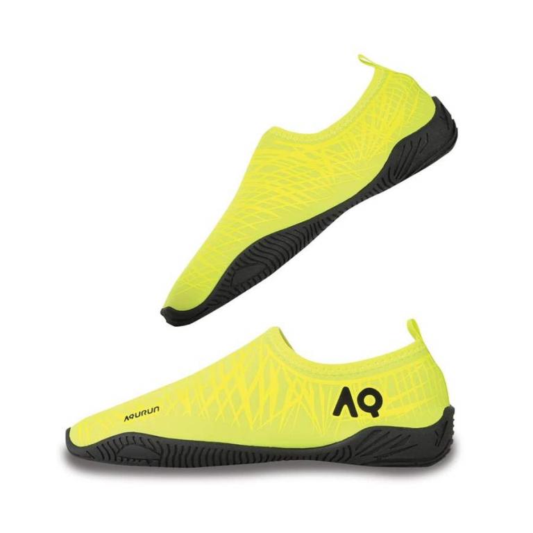 Тапочки для кораллов Aqurun Edge Neon Yellow (аквашуз, аквасоки)