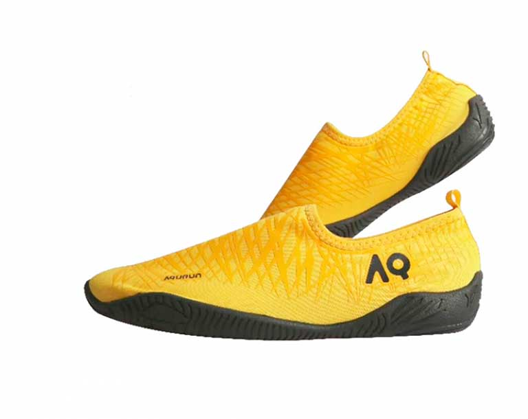 Тапочки для кораллов детские Aqurun Edge Yellow Junior (аквашуз, аквасоки)