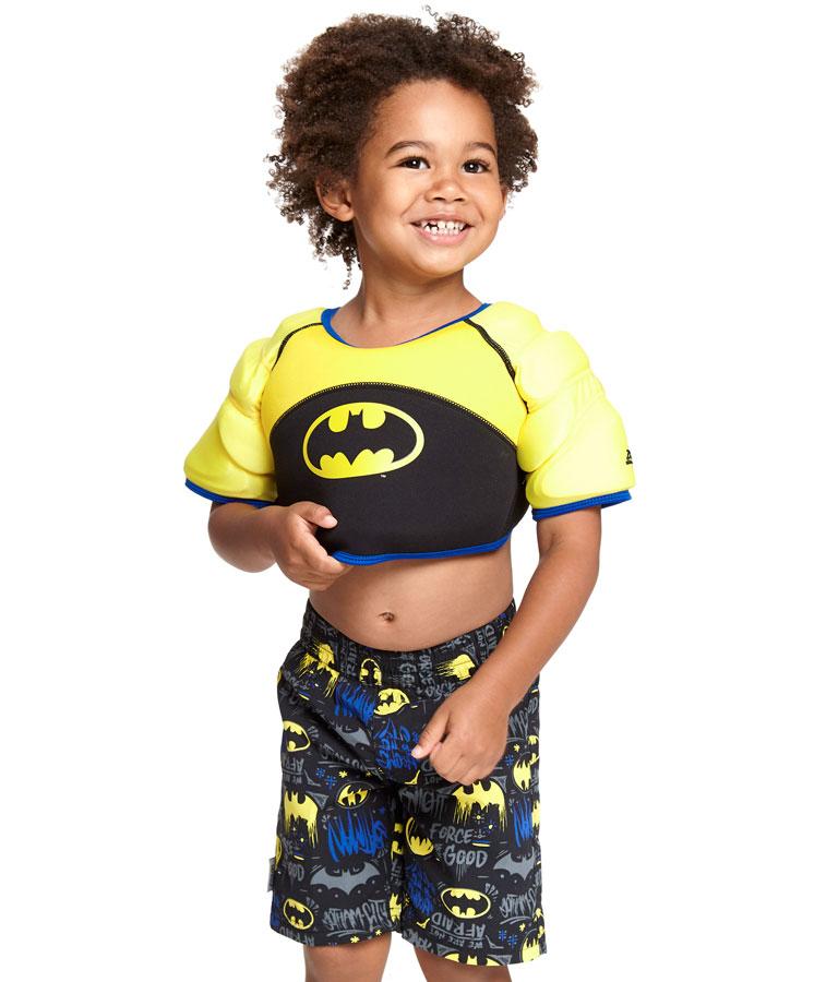 Топ детский с поплавками для обучения плаванию ZOGGS Batman Water Wings