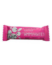 "Батончик мюсли Tekmar Мой Лайк ""Арония для иммунитета"", 25 грамм"