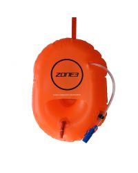 Буй безопасности с питьевой системой  (гидратором) для плавания на открытой воде ZONE3 Buoy Dry Bag Hydration