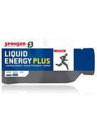 Гель энергетический углеводный Sponser Liquid Energy Plus, 35 грамм