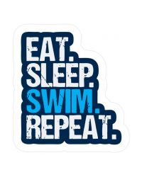 Наклейка Proswim Eat. Sleep. Swim. Repeat.