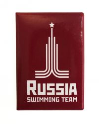 Обложка (чехол) для паспорта Proswim Russia Swimming Team Premium