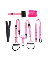 Петли для функционального тренинга (набор) розовые OFT PRO Pink