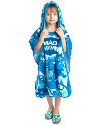 Полотенце-пончо детское MadWave Poncho Mad Babbles