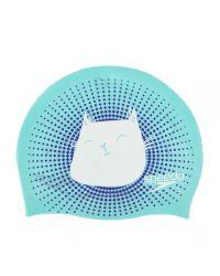 Шапочка для плавания детская двусторонняя Speedo New Reversible Silicone Cap Junior  (6-12 лет)