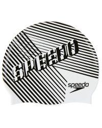Шапочка для плавания детская Speedo Junior Slogan Cap (6-12 лет)