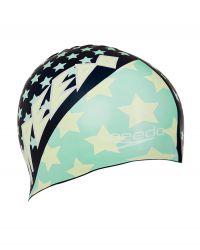 Шапочка для плавания детская Speedo Junior Slogan Cap SS17