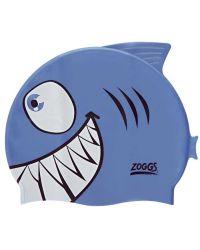 Шапочка для плавания детская ZOGGS Character Silicone Fish (6-14 лет)