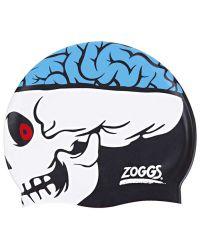 Шапочка для плавания детская ZOGGS Character Silicone Skull (6-14 лет)
