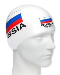Шапочка для плавания MadWave Print Russian Team