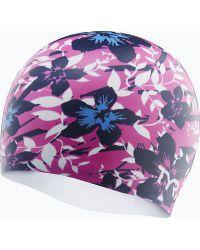 Шапочка для плавания TYR Silicone Hibiscus Cap