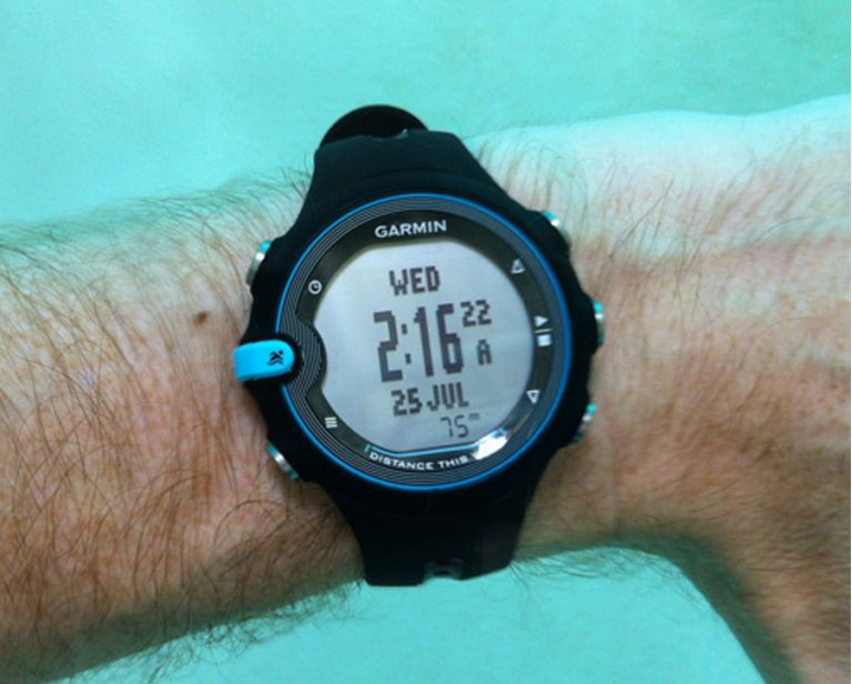 Garmin Swim Under Water